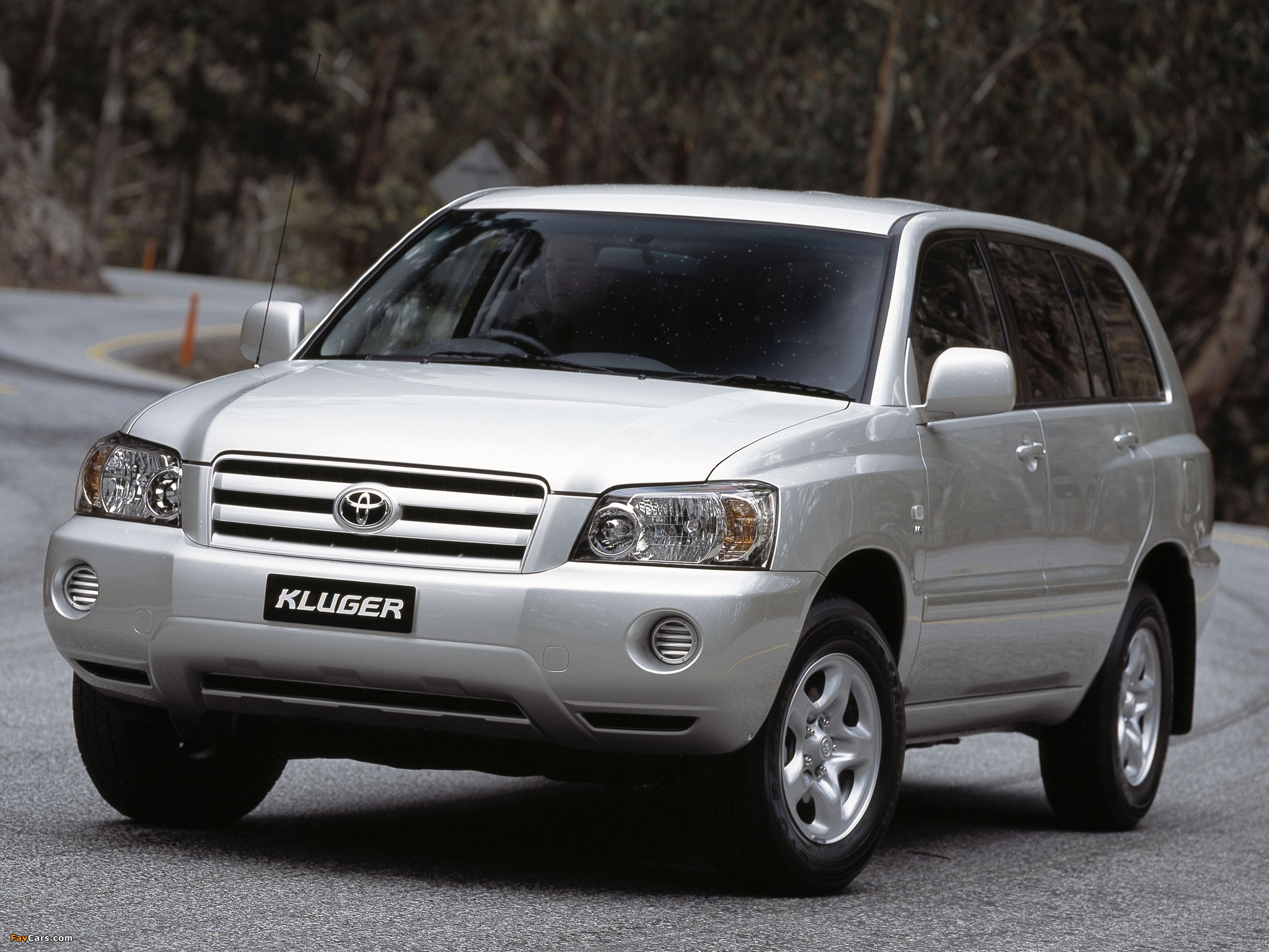 Toyota Kluger AU-spec 2003–07 wallpapers (2048 x 1536)
