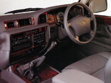 Images of Toyota Land Cruiser Amazon VX (HZJ81V) 1995–97
