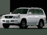 Toyota Land Cruiser Cygnus 50th Anniversary (UZJ100W) 2001 wallpapers