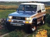 Photos of Toyota Land Cruiser II (LJ73) 1990–96