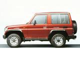 Toyota Land Cruiser II (LJ71G) 1990–96 photos