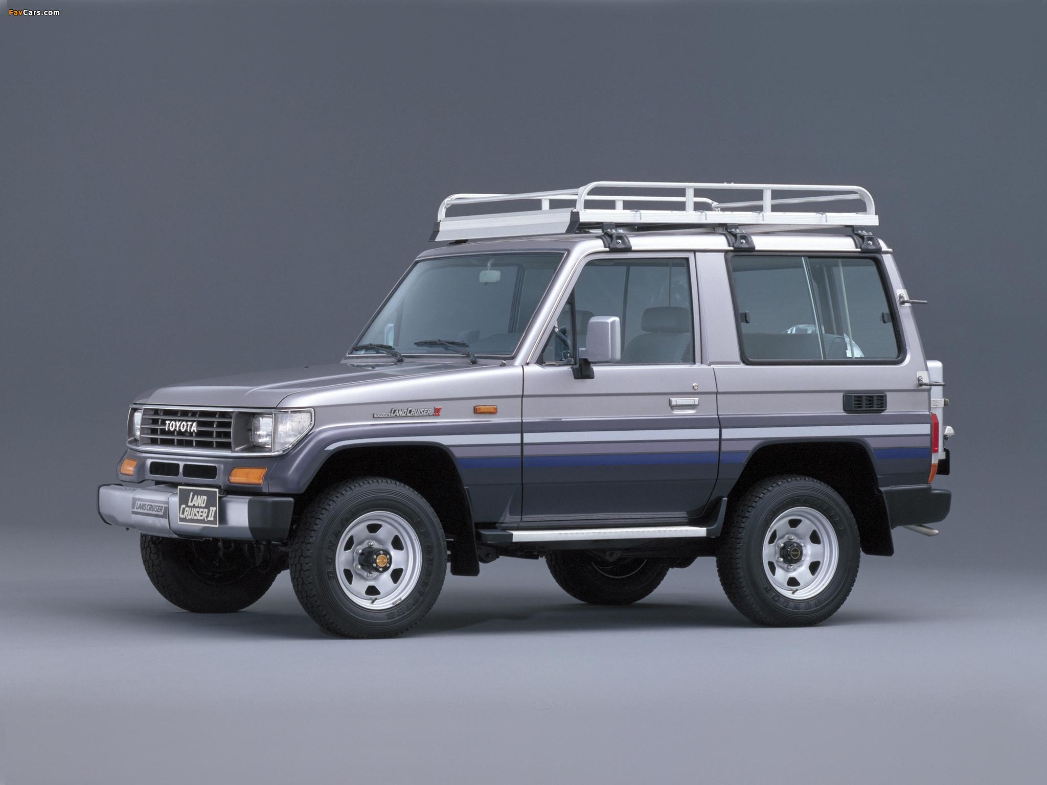 Toyota Land Cruzer >> Toyota Land Cruiser II (LJ71G) 1990–96 pictures (2048x1536)