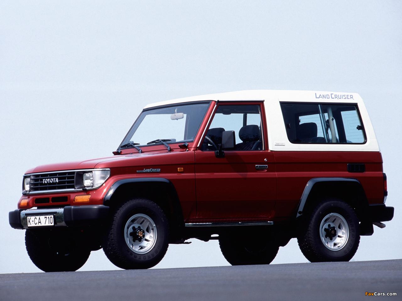 Toyota Land Cruiser Ii Lj73 1990 96 Wallpapers 1280x960