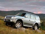 Images of Toyota Land Cruiser Prado 5-door Advantage Edition (J95W) 2002