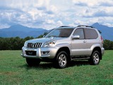 Images of Toyota Land Cruiser Prado 3-door JP-spec (J125W) 2003–09