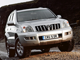 Images of Toyota Land Cruiser Prado Invincible 5-door (J120W) 2007