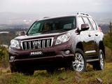 Images of Toyota Land Cruiser Prado 5-door AU-spec (150) 2009