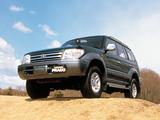 Photos of Toyota Land Cruiser Prado 5-door JP-spec (J95W) 1996–99