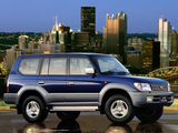 Photos of Toyota Land Cruiser 90 5-door (J95W) 1999–2002