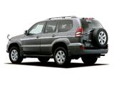 Photos of Toyota Land Cruiser Prado 5-door JP-spec (J120W) 2003–09