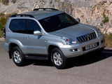 Photos of Toyota Land Cruiser Prado 3-door (J125W) 2003–09
