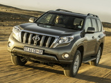 Photos of Toyota Land Cruiser Prado ZA-spec (150) 2013