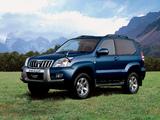 Pictures of Toyota Land Cruiser Prado 3-door JP-spec (J125W) 2003–09