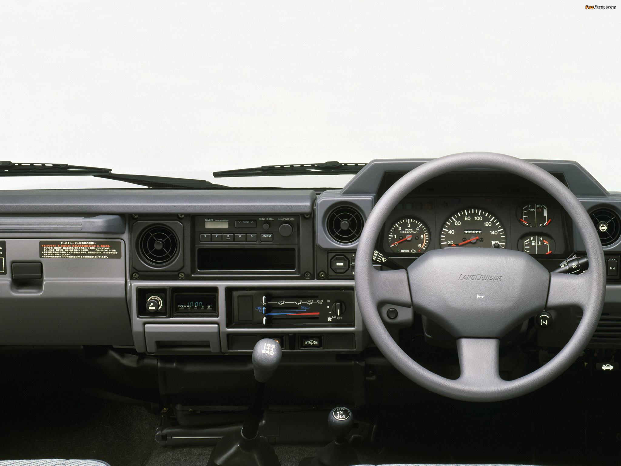 Toyota Land Cruiser Prado >> Toyota Land Cruiser Prado (LJ71G) 1990–96 wallpapers (2048x1536)