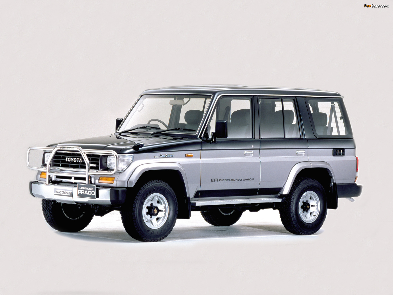 Toyota Land Cruiser Prado >> Toyota Land Cruiser Prado (J78) 1990–96 wallpapers (1600x1200)