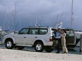 Toyota Land Cruiser 90 5-door 50th Anniversary (J95W) 2001 images