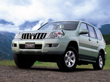 Toyota Land Cruiser Prado 5-door JP-spec (J120W) 2003–09 images
