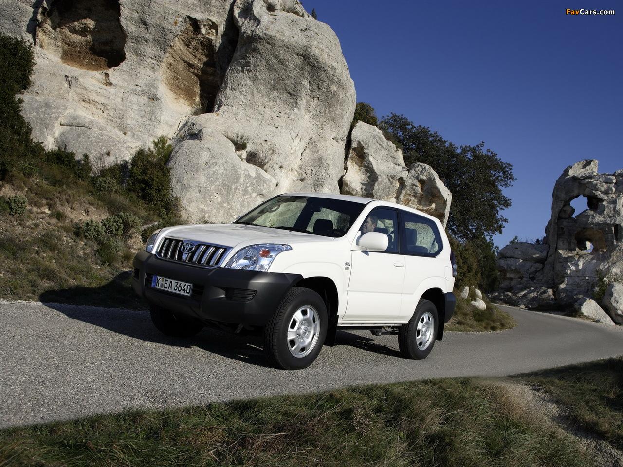 Prado Land Cruiser >> Toyota Land Cruiser Prado GX 3-door (J125W) 2003–09 images (1280x960)