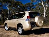Toyota Land Cruiser Prado 5-door AU-spec (150) 2009 images