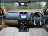 Toyota Land Cruiser UK-spec (150) 2014 images