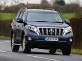 Toyota Land Cruiser UK-spec (150) 2014 pictures
