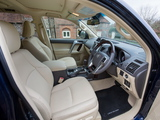 Toyota Land Cruiser UK-spec (150) 2014 wallpapers