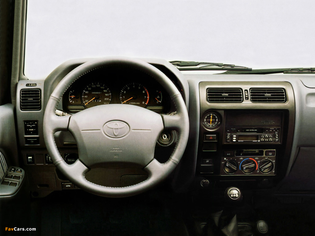 Toyota Land Cruiser 90 5 Door J95w 1996 99 Images 1024x768