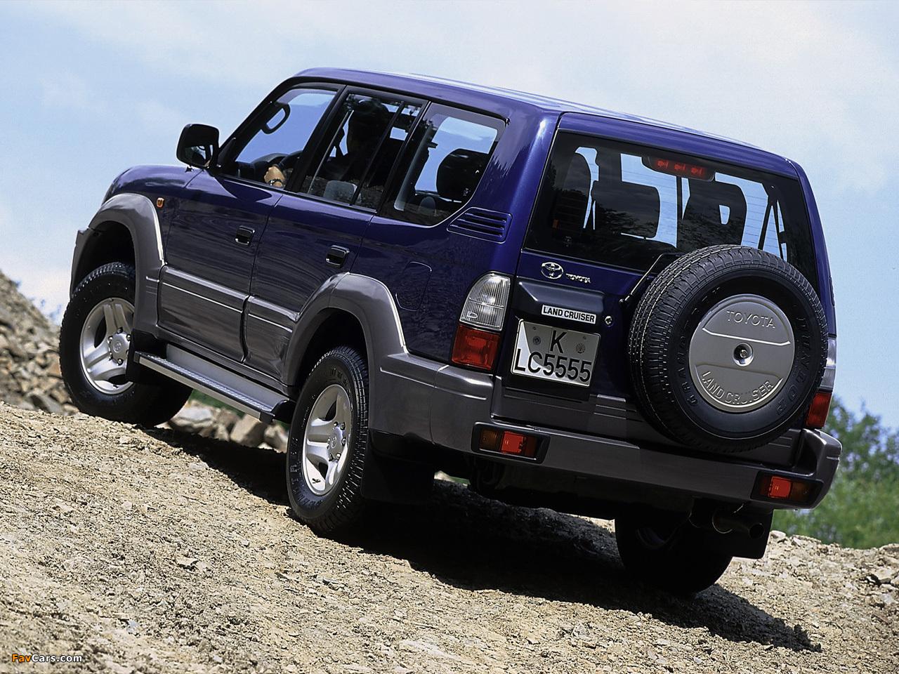 Toyota Land Cruiser 90 5 Door J95w 1999 2002 Photos