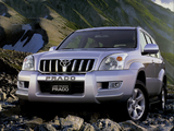 Toyota Land Cruiser Prado 5-door CN-spec (J120W) 2003–09 photos