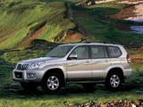 Toyota Land Cruiser Prado 5-door CN-spec (J120W) 2003–09 wallpapers