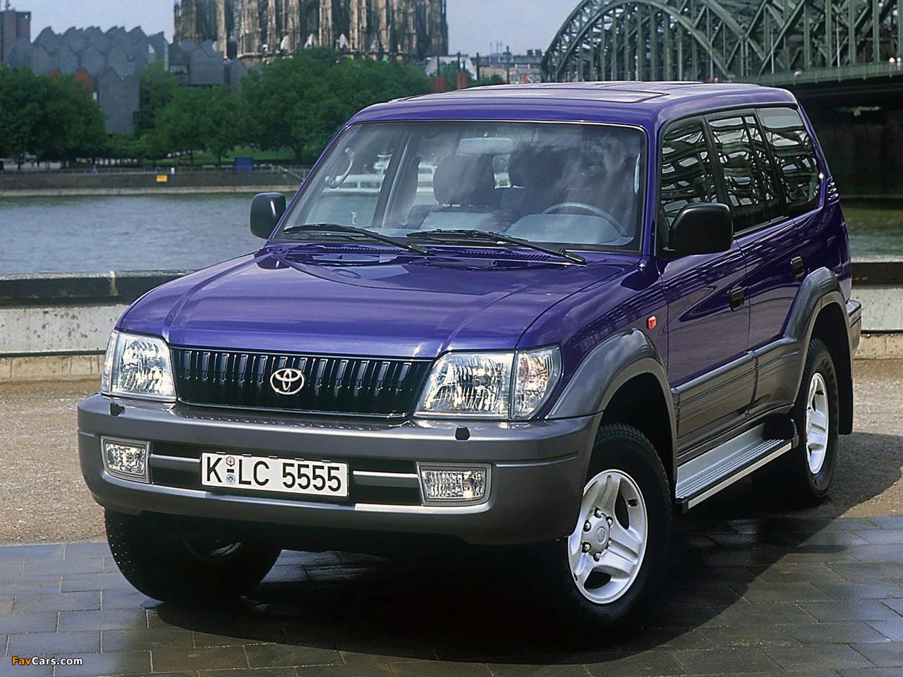 Toyota Land Cruiser Prado >> Toyota Land Cruiser 90 5-door (J95W) 1999–2002 wallpapers (1280x960)