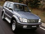 Toyota Land Cruiser Prado TX 5-door AU-spec (J95W) 1999–2002 wallpapers