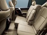 Toyota Land Cruiser Prado 5-door JP-spec (150) 2009 wallpapers