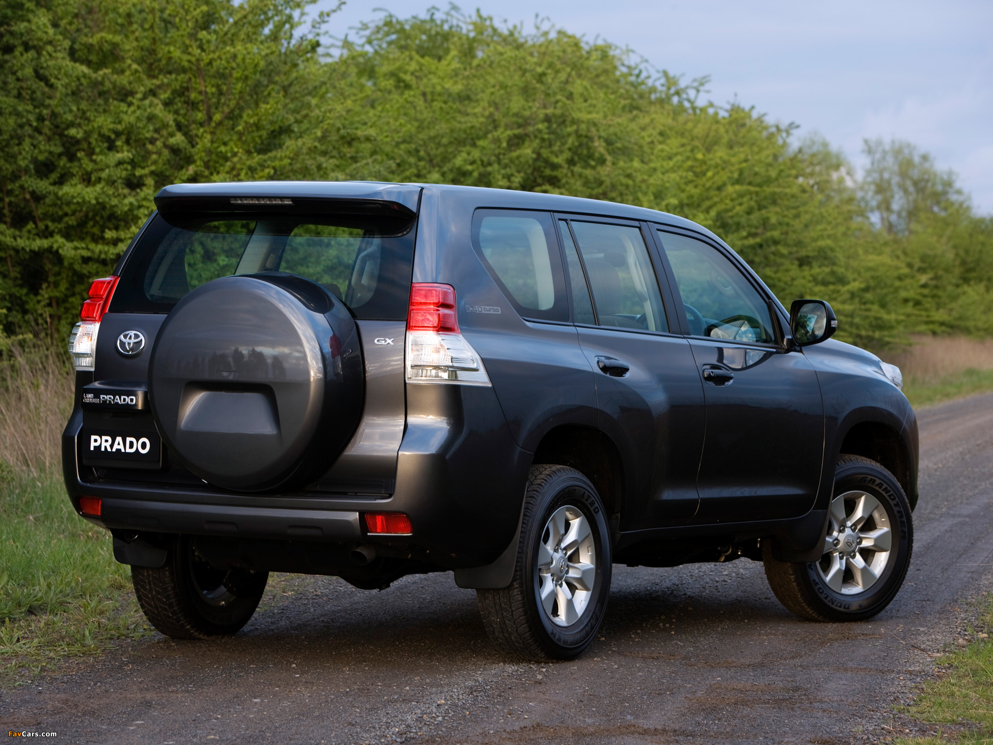 Toyota Land Cruiser Prado GX 5-door AU-spec (150) 2009 wallpapers