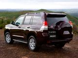 Toyota Land Cruiser Prado 5-door AU-spec (150) 2009 wallpapers