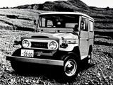Images of Toyota Land Cruiser (FJ40V) 1961–73