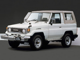 Images of Toyota Land Cruiser (PZJ70) 1990–98