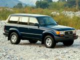 Images of Toyota Land Cruiser 80 US-spec (HZ81V) 1995–97