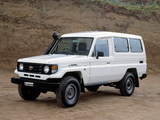Images of Toyota Land Cruiser Troop Carrier (J78) 1999–2007