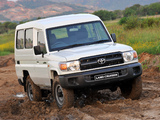 Images of Toyota Land Cruiser Wagon ZA-spec (J78) 2010