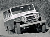 Photos of Toyota Land Cruiser (FJ45V) 1960–67