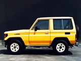 Photos of Toyota Land Cruiser (BJ71V) 1985–90