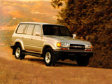 Photos of Toyota Land Cruiser 80 US-spec (HZ81V) 1989–94