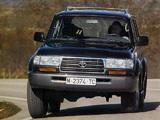 Photos of Toyota Land Cruiser 80 VX (HZ81V) 1995–97