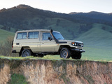 Photos of Toyota Land Cruiser Troop Carrier (J78) 1999–2007
