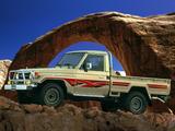 Photos of Toyota Land Cruiser Pickup (J79) 1999–2007