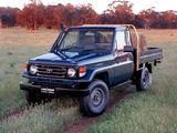 Photos of Toyota Land Cruiser Cab Chassis (J79) 1999–2007