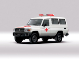 Photos of Toyota Land Cruiser Troop Carrier Ambulance (J78) 2007