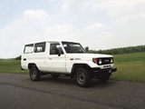 Photos of Toyota Land Cruiser (J75) 1986–90