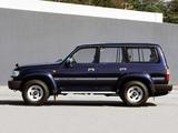 Photos of Toyota Land Cruiser 80 Wagon VX JP-spec (HZ81V) 1995–97